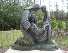 the holy family statues | St. Agnes Holy Family Statue