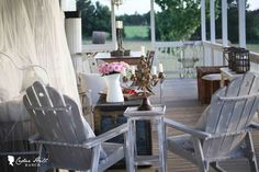 On the Back Porch with Debbie of Debbiedoo's