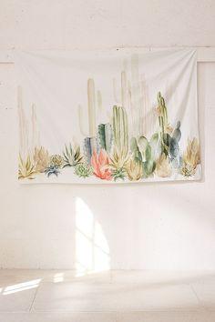 Slide View: 3: Cactus Landscape Tapestry