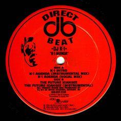 "DJ K-1 - K-1 Agenda 12"" DB4W018 Direct Beat"