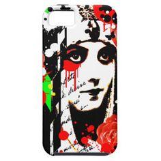 #vintage - #Nostalgic Seduction - Zombie Queen Roses iPhone SE/5/5s Case
