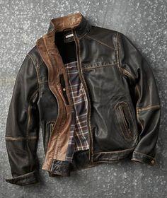 Effortlessly Cool Men's Jackets - Gradient Jacket - Carbon2Cobalt