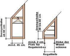 Schrank für Dachschrägen Mehr