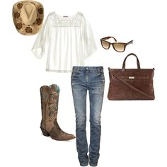 """""""dude ranch"""" by luvlifelizard on Polyvore"""
