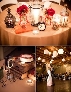 Aimee + Troy's Strawberry Farm Red Barn Wedding! like vintage touches, framed table signs, and white lanterns Wedding Themes, Wedding Colors, Wedding Photos, Wedding Decorations, Wedding Ideas, Table Decorations, Rustic Wedding Alter, Wedding Table, Wedding Reception