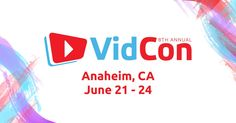 FULL DISCLOSURE: This post is about my personal experience at VidCon this year and I am in no way an expert in all things YouTube and/or VidCon. Now with that out of