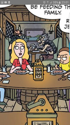 Junkrat and Roadhog appearence in Rick and Morty comics.