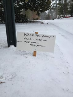 I love this: photo from Birmingham, Alabama, after freak snow storm that stranded so many for hours