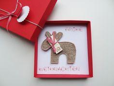 Geldgeschenk Weihnachten Rentier von schnurzpieps auf DaWanda.com