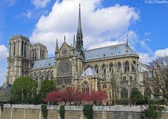 Notre Dame Cathedral, Paris #France #Paris #pariscityvision #visiterparis #tour #visit #visite #travel #voyage #tourim #tourisme #bus #notre #dame #church #eglise #cathedral #cathedral #christian #monument #monuments