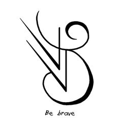 "thepocketedindividual said: Hiya! I was wondering if you could make sigil for either ""I am not afraid"" and/or ""Be Brave"" ? Thank you!! Answer: ""I am not afraid"" sigil ""Be brave"" sigil"