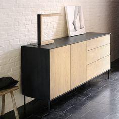 Ethnicraft NV - Oak Blackbird Sideboard - Lekker Home - 3