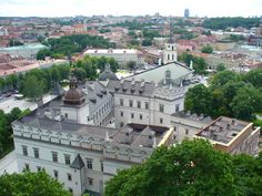 The Palace of the Grand Dukes of Lithuania and The Cathedral (Vilnius, Lithuania)
