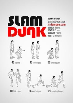 Slam Dunk Workout: