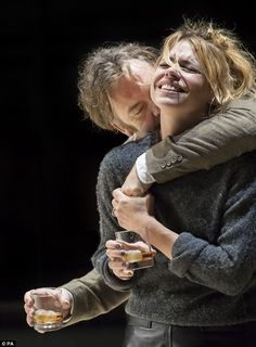 Breathtaking:Billie Piper blew the critics away with her performance in Yerma at The Young Vic theatre in London on Thursday as reviewers gathered for the press night
