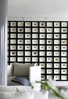 Butterfly Wall by Aker Brygge, Norway. Inspired by Butterfly Restaurant designed by Philippe Starck, #Butterfly_Wall