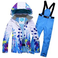 #BlackFriday is coming early #BestPrice #CyberMonday Skiing Jacket Outdoor for Women Ski Suits Ski Jacket and Pant Snowboarding Suits Coat…