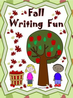"""Get your students excited to write about  what they have learned about Fall. Use these """"Print and Go"""" writing prompts to get started."""