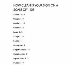 How clean is your sign on a scale of Im a gemini and i am totaly not clean Scorpio Zodiac Facts, Zodiac Sign Traits, Zodiac Signs Astrology, Virgo Horoscope, Zodiac Signs Aquarius, Zodiac Memes, Zodiac Star Signs, My Zodiac Sign, Zodiac Quotes