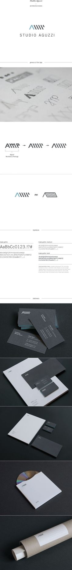 Studio Aguzzi - Architecture Studio by Giorgia Smiraglia, via Behance