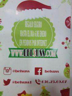 Promoción, sólo en web http://belsuss.com