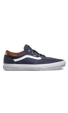 Vans Gilbert Crockett Pro Skate Shoes Navy - Fuel Clothing
