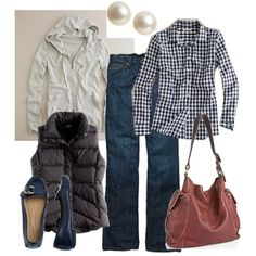 Everyday Comfort - good outfit idea for our visit to Colorado in early May!