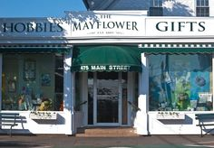 The Mayflower, around since 1885, hobbies and gifts in Chatham, MA