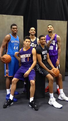 DAKARIA JOHNSON, KARL ANTHONY TOWNS, WILLIE CAULEY STIEN, DEVIN BOOKER, AND TREY LYES. MISS ALL OF YOU.! THANKS FOR A GREAT YEAR. WISHING ALL OF YOU THE BEST!!!