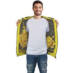 Yellow Roses Zip Hoodie – This is iT Original Autumn T Shirts, Yellow Roses, Zip Hoodie, Your Style, Bomber Jacket, Zipper, Hoodies, Jackets, Fashion