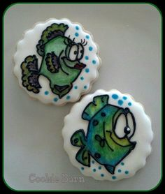 Cute Fish Cookies by Cookie Barn | Cookie Connection