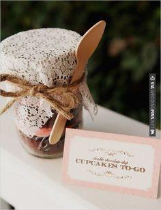 cupcakes to go   CHECK OUT MORE IDEAS AT WEDDINGPINS.NET   #weddingcakes