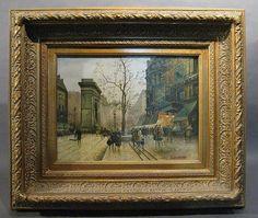 Contemporary Parisian Street Scene - by Sterling Associates, Inc.