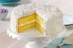 Classic ANGEL FLAKE Coconut Cake Recipe - Kraft Recipes