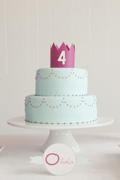 An Elegant Princess Cake
