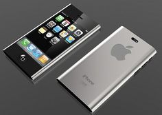 iPhone 5 with metal back side casing