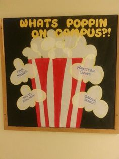 This might be my fav board just b/c I love popcorn so much #whatspoppin