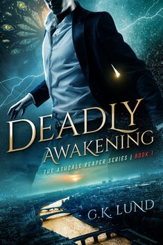When a Reaper of Death takes a human's form and is mistakenly implicated in a small-town murder, he must join forces with detective Olivia Jones to find the real killer before it's too late! Deadly Awakening (The Ashdale Reaper Series Book by [G. Fantasy Authors, Fantasy Books, Got Books, Books To Read, Reading Material, What To Read, Free Kindle Books, Book Photography, Book 1