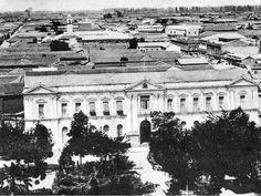 Antiguo Palacio Consistorial de Talca. Ca. 1920