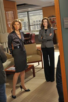 Diane Lockhart and Alicia Florrick #thegoodwife