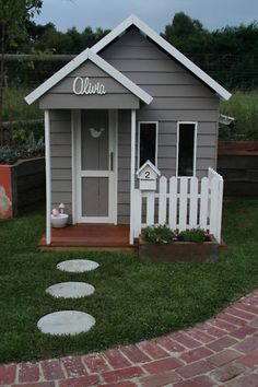 Ready to Build a Playhouse on Stilts? Kids Cubby Houses, Kids Cubbies, Dog Houses, Play Houses, Build A Playhouse, Playhouse Outdoor, Playhouse Ideas, Kids Outdoor Play, Backyard For Kids
