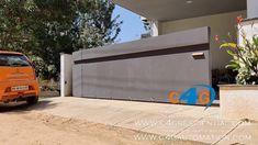 Automatic Sliding Folding Gate / Corner Curved Gates Designs & Mechanism Gate Designs Modern, Modern Gates, Modern Design, Automatic Sliding Gate, Corner Designs, Outdoor Furniture, Outdoor Decor, House, Youtube