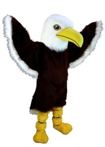 This Thermo-Lite Bald Eagle Mascot Costume will get your crowd's spirits soaring. Cool Costumes, Adult Costumes, Costume Halloween, Pheonix Costume, Bloodhound Dogs, Tiger Costume, Eagle Mascot, Goofy Dog, Bulldog Mascot