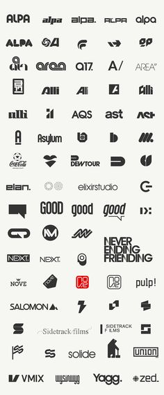 Miscellaneous Logos — Work — AREA 17 - CoolHomepages Web Design Gallery