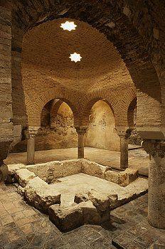 Arabic Baths in Jaén,  Spain
