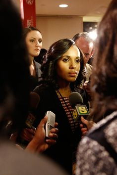 Get all the behind-the-scenes fashion details from Season Episode 19 of Scandal. Scandal Fashion, Olivia Pope, Popular Shows, Fashion Details, Red, Blue, Kerry Washington, Style, Swag