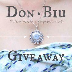 Don Biu Giveaway go to www.bohomixology.com for many ways to enter #boho #gypsy #fashion #jewelry
