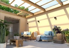 Renowned for its innovative approach and its elegant products, Salinox creates whatever is needed for a projects that involves aluminum and glass. Roofing Systems, Skylights, Glass Roof, Modern, Innovation, Pergola, Outdoor Structures, Patio, Crystals