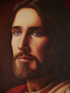 I love this picture of Jesus Christ by Simon Dewey Images Of Christ, Pictures Of Jesus Christ, Bible Quotes About Faith, Jesus Second Coming, Biblia Online, Our Father In Heaven, Religion Catolica, Lds Art, Jesus Painting