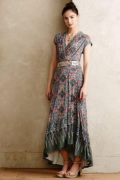 Desert Star Maxi Dress #anthropologie